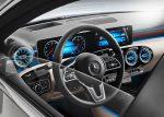 Mercedes-Benz Clase A Sedán detalle interior