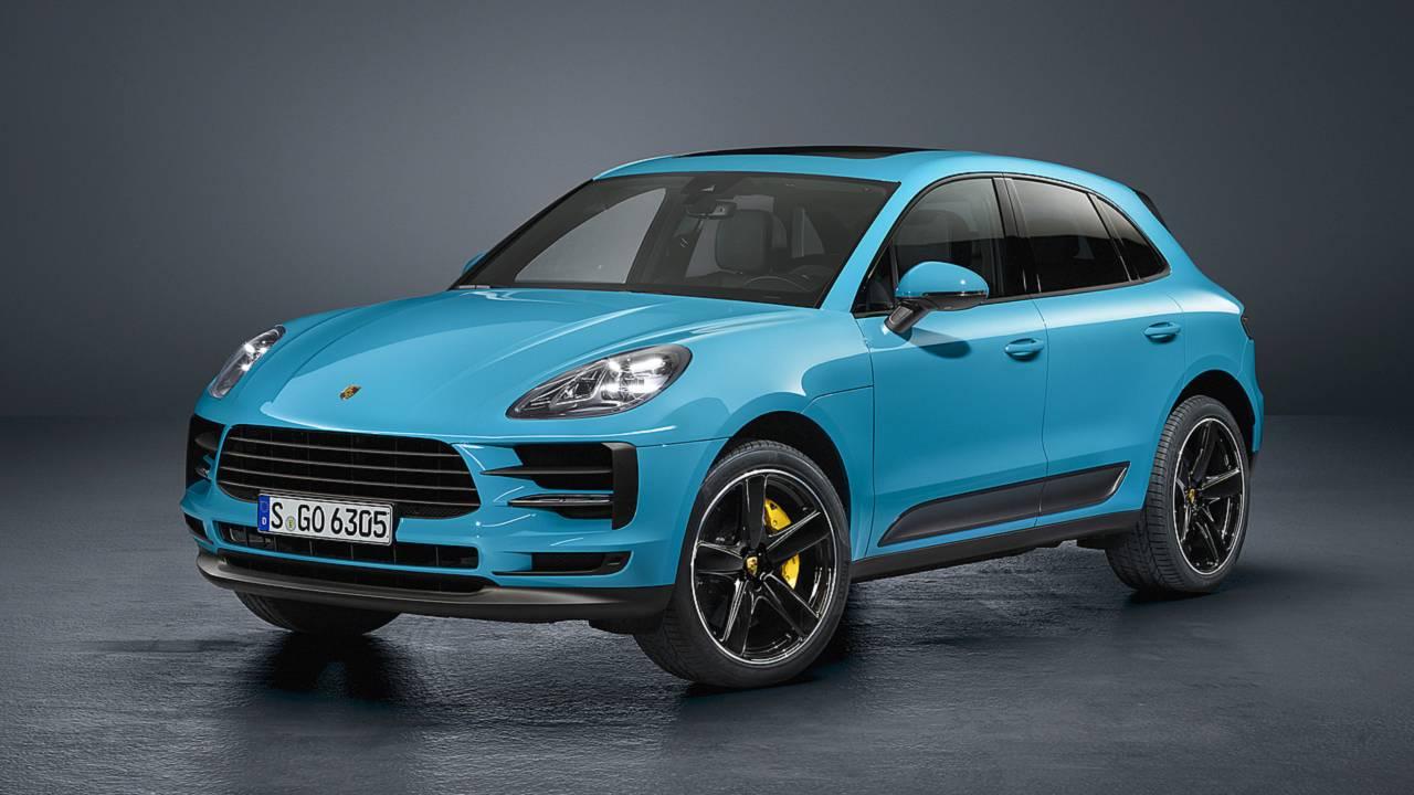 Porsche Macan 2019 perfil frontal