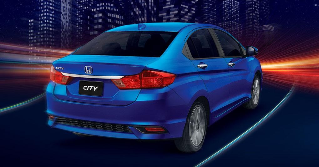 Honda City 2019 posterior