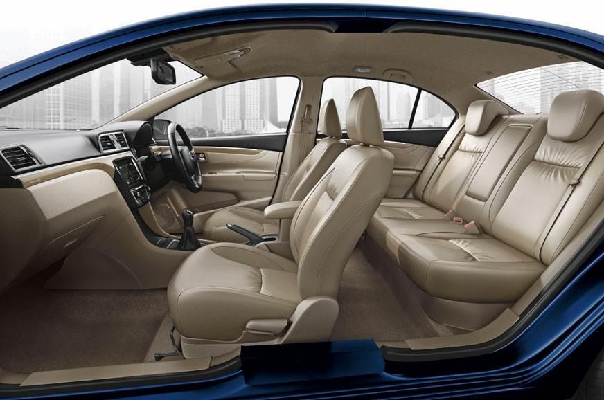 Suzuki Ciaz 2019 interior