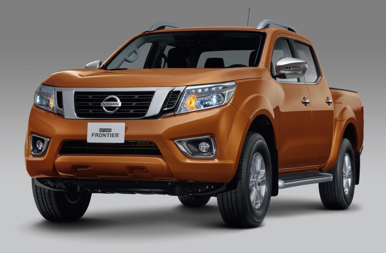 Nissan NP300 Frontier Platinum LE 2019 perfil