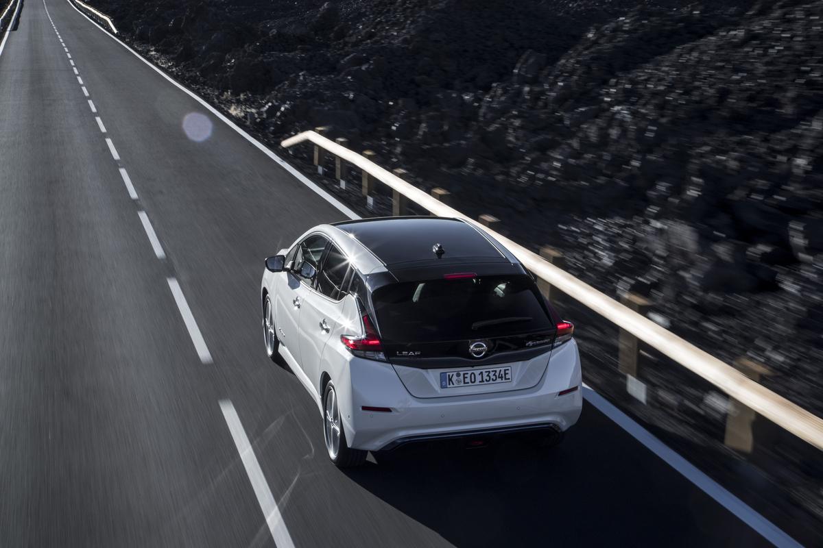 Nissan LEAF 2019 posterior