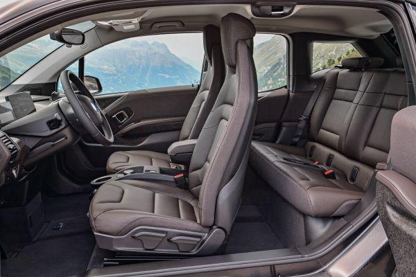 BMW i3s Sport interior