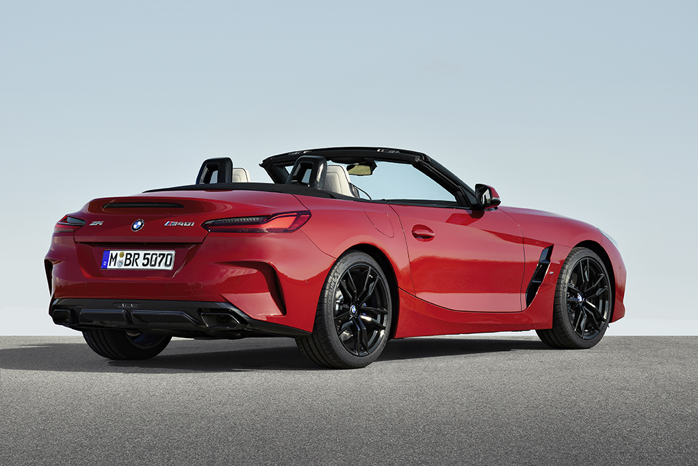 BMW Z4 First Edition 2019 perfil