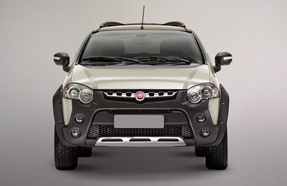 Fiat Palio Adventure 2019 frente
