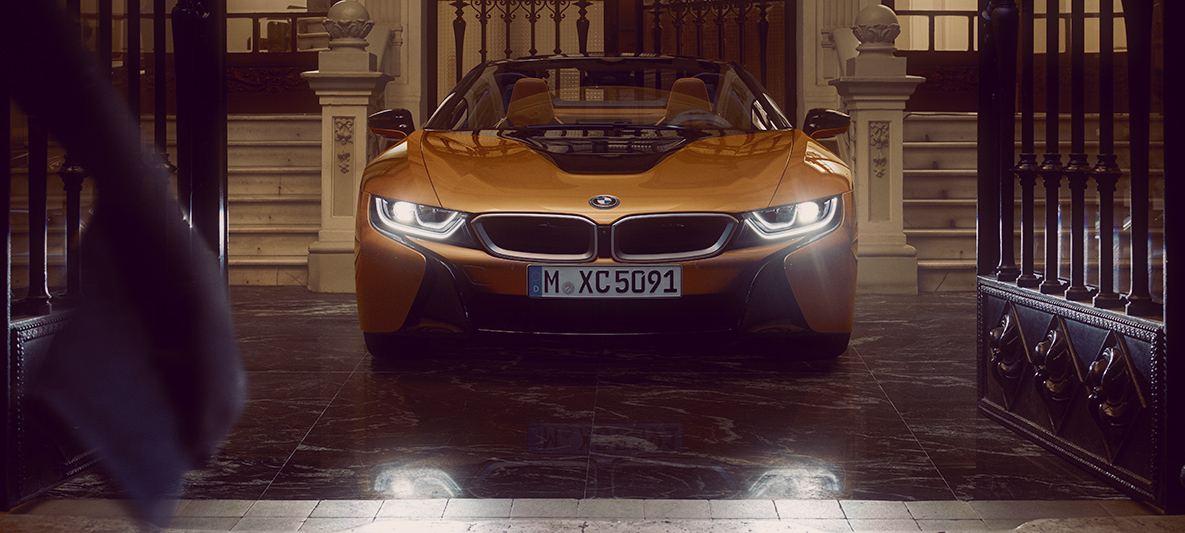 BMW i8 Roadster frente