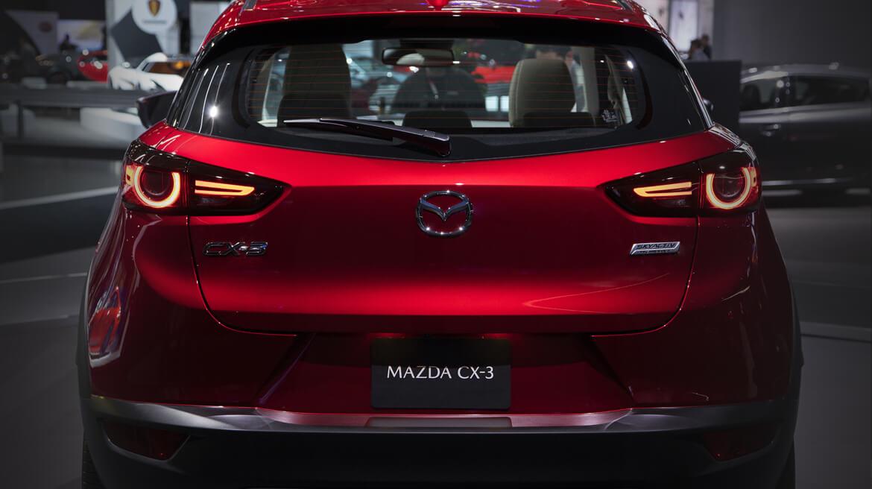 Mazda CX-3 2019 posterior