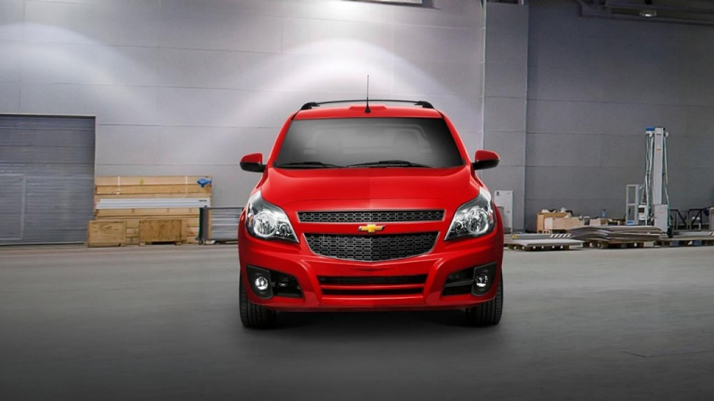 Chevrolet Tornado 2019 frente