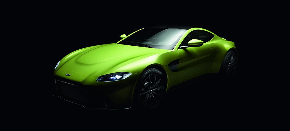 AstonMartin Vantage 2019 perfil