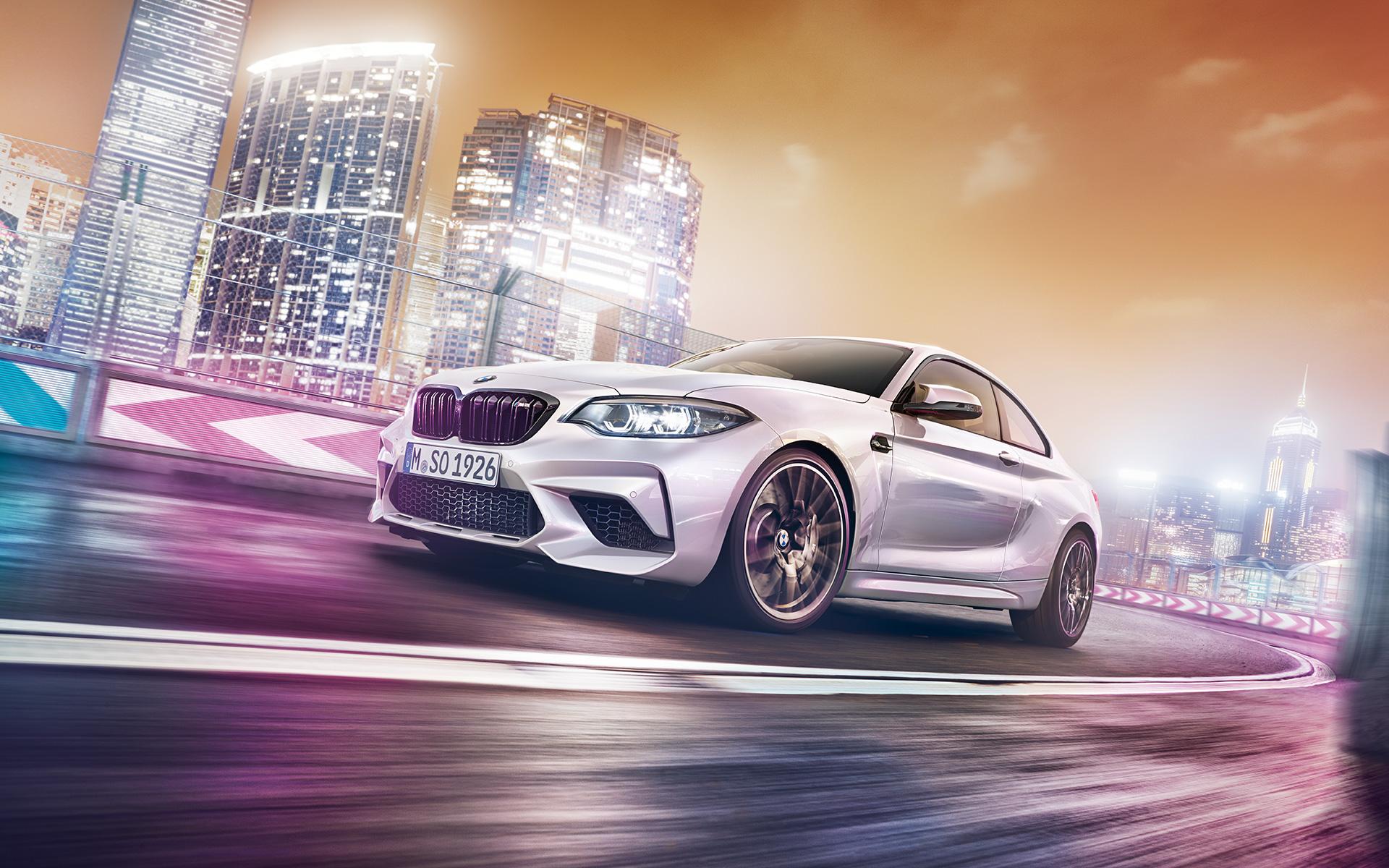 BMW M2 Competition 2019 perfil derecho