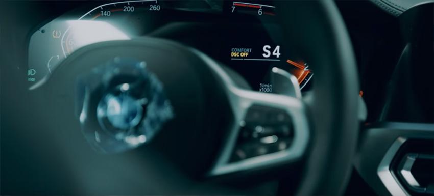 BMW Serie 3 2019 tablero