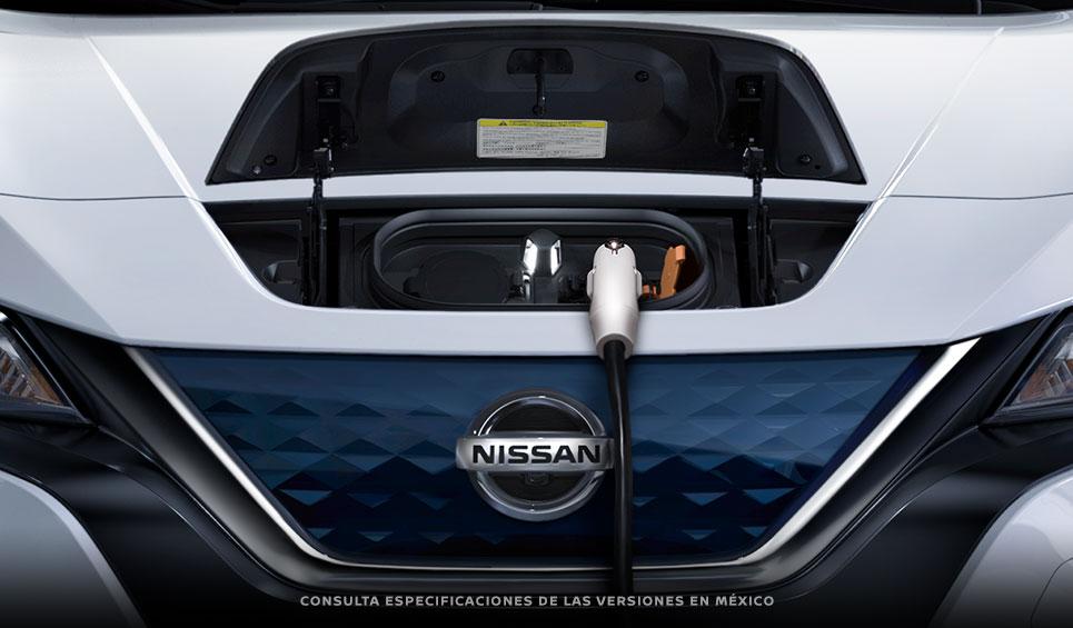 Nissan Leaf 2019 puerto de carga