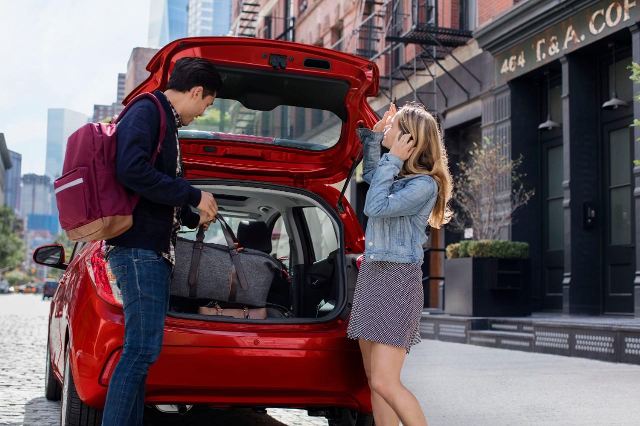 Chevrolet Spark 2019 cajuela
