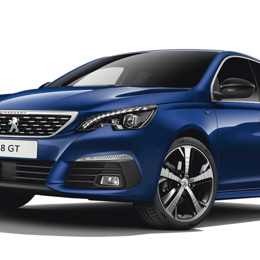 Peugeot azul