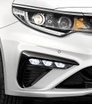 Kia Optima 2019 nuevos cambios en exteriores - nuevos faros antiniebla