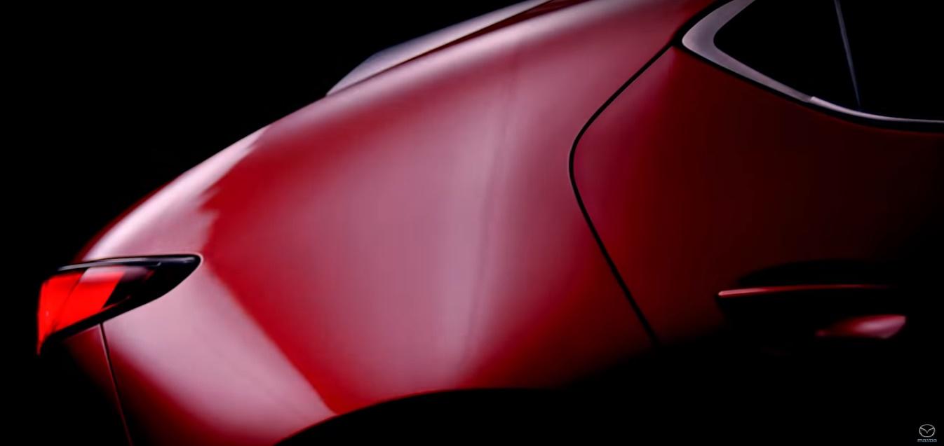 Mazda 3 detalle posterior