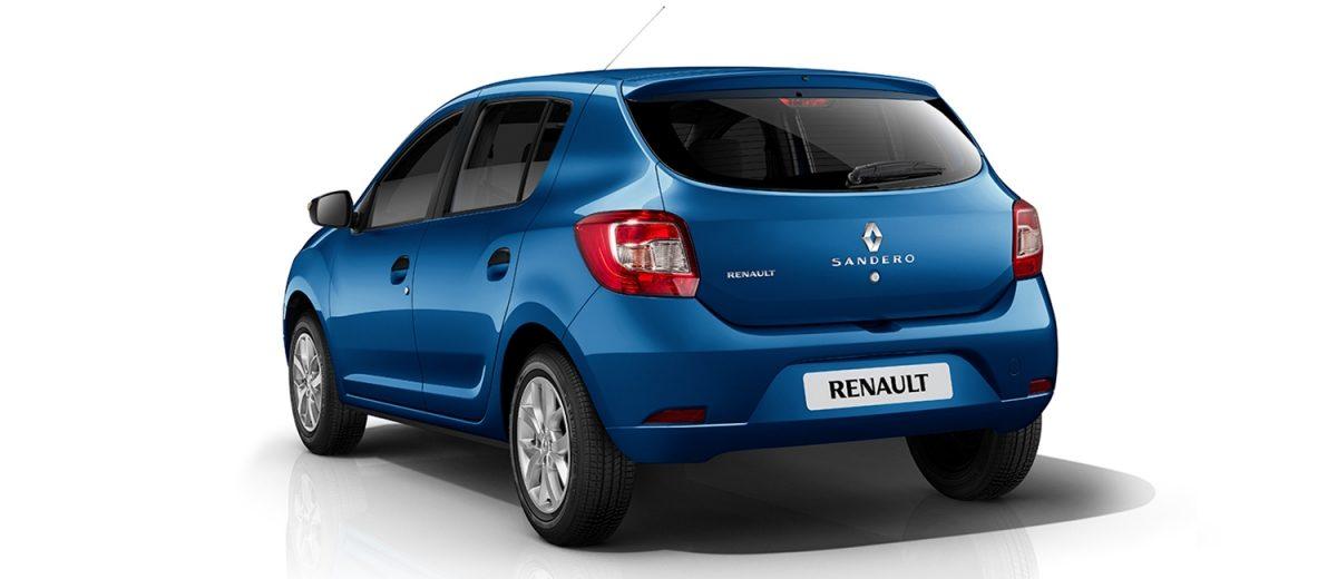 Renault Sandero 2019 perfil