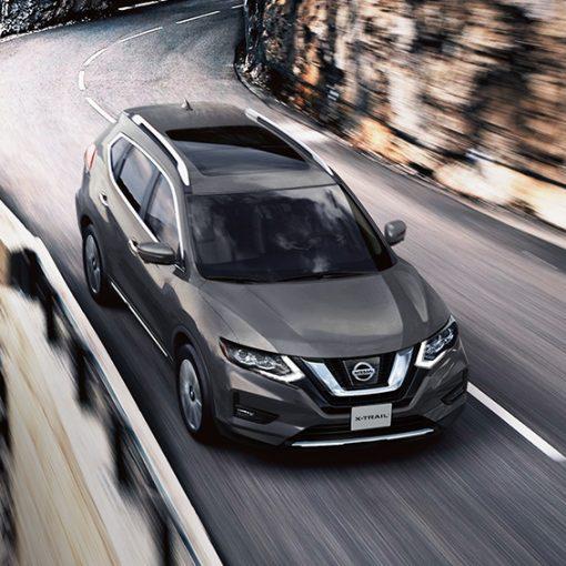 Nissan Xtrail 2019 vista cenital