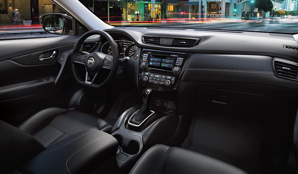 Nissan Xtrail 2019 consola