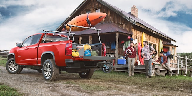 Chevrolet Colorado 2019 cajuela