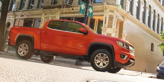 Chevrolet Colorado 2019 perfil