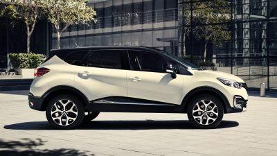 Renault Captur 2019 perfil