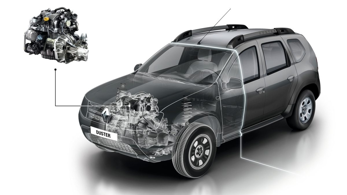 Renault DUSTER 2019 motor