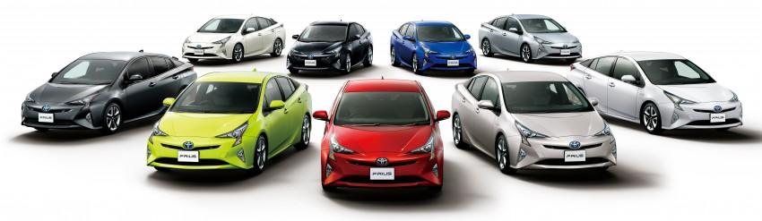Toyota Prius 2019 colores