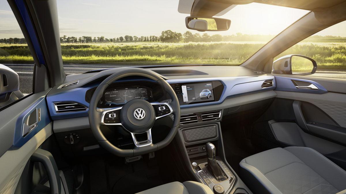 Volkswagen Tarok interiores