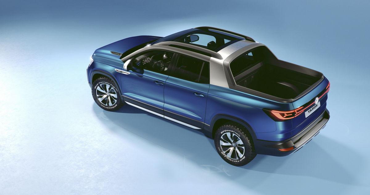 Volkswagen Tarok vista panoramica