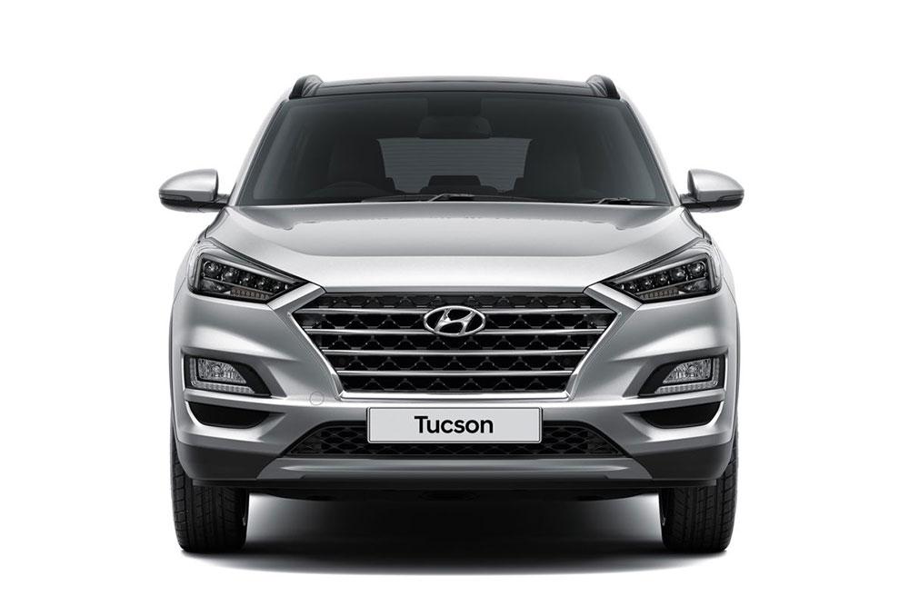 Hyundai Tucson 2019 nuevo frente