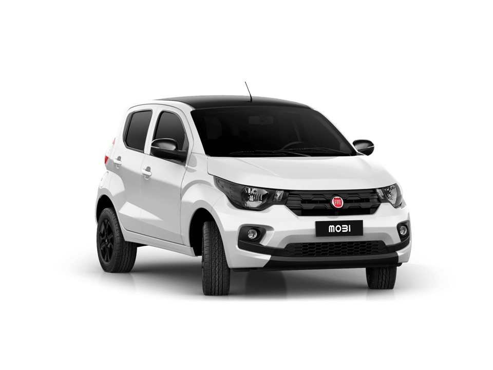 Fiat Mobi 2019 parte lateral