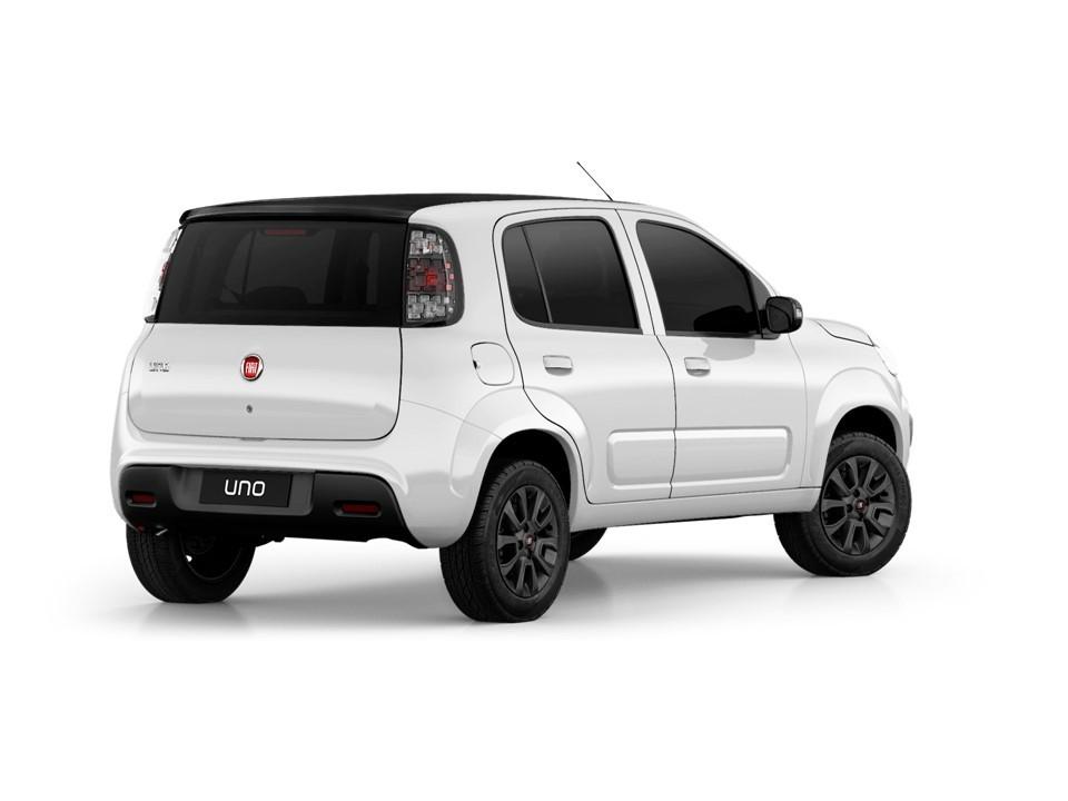 Fiat Uno 2019 parte posterior