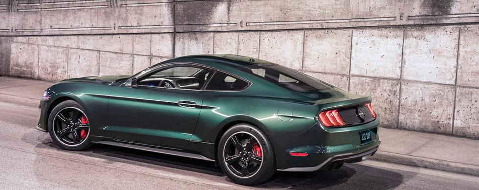 Ford Mustang Bullit 2019 perfil