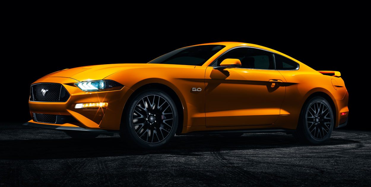 Ford Mustang 2019 perfil