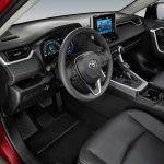 Toyota RAV4 2019 en México interior volante y tablero