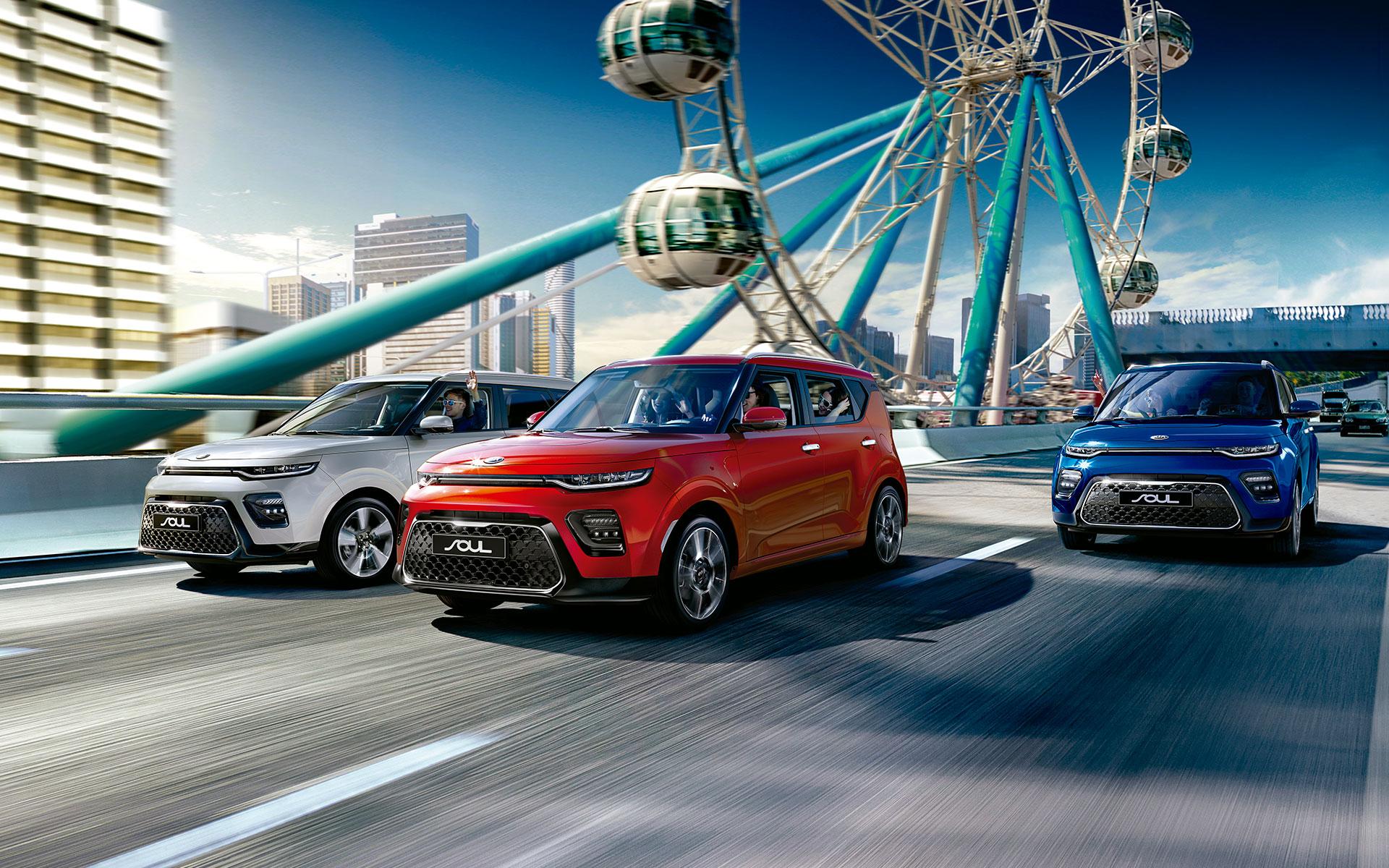 Kia Soul 2020 nueva generación colores