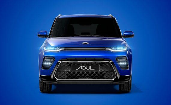 Kia Soul 2020 nuevo frente