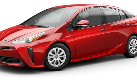 Toyota Prius 2019 para México frente y lateral