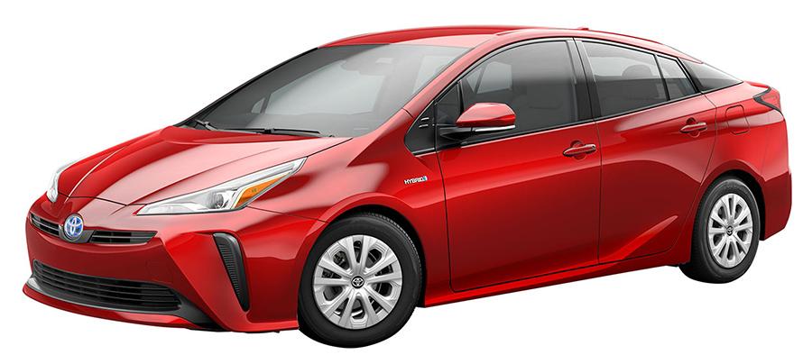 Toyota Prius 2019 para México frente y lateral cercano