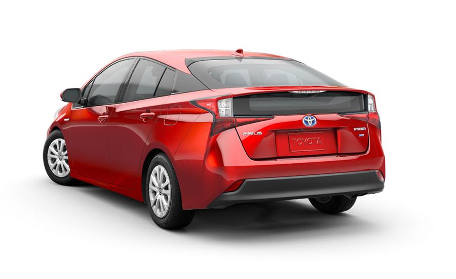 Toyota Prius 2019 para México posterior