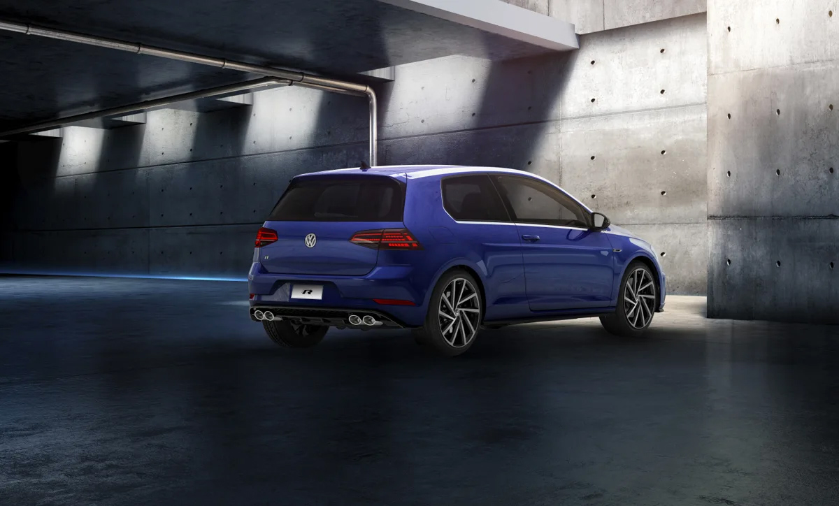 Volkswagen golf R 2019 exterior posterior