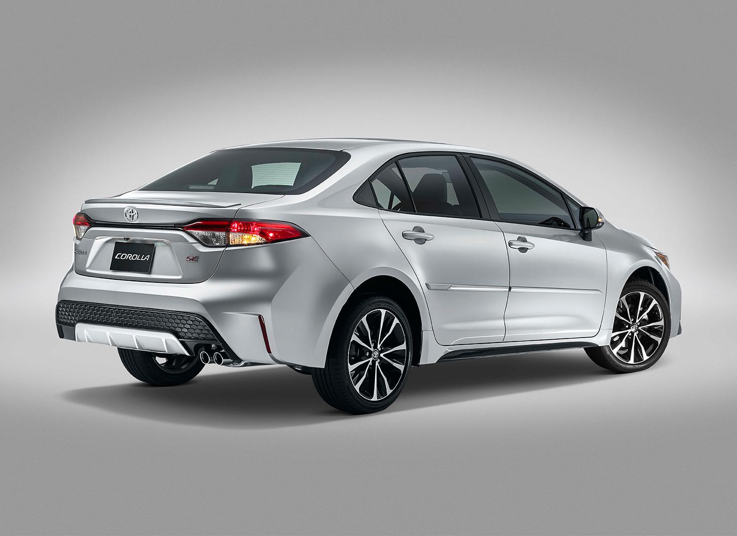 Toyota Corolla 2020 exterior diseño posterior de lado