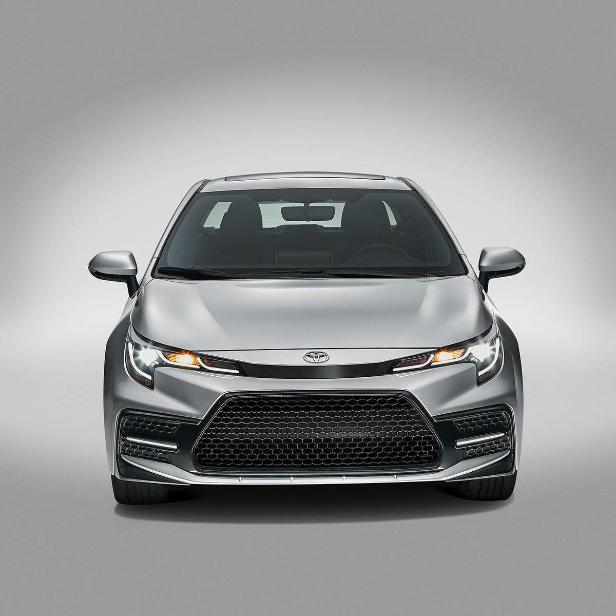 Toyota Corolla 2020 frente exterior