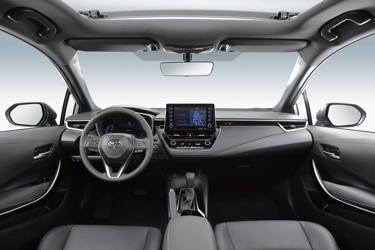 Toyota Corolla 2020 interior frente