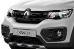 Renault KWID 2019 México, diseño exterior, frente parrilla y faros