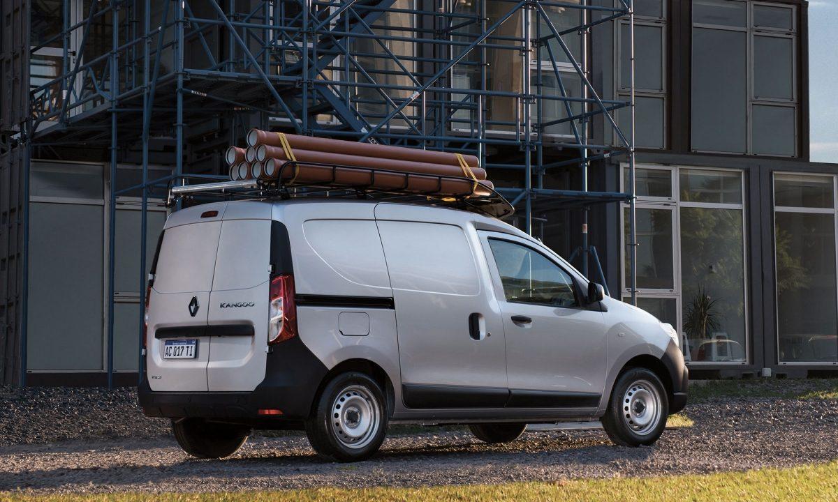 Renault Kangoo 2019 en México, lateral en negocio