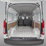 Toyota Hiace 2020 México - interior espacio