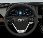 Toyota Sienna 2020 para México - interior volante con controles
