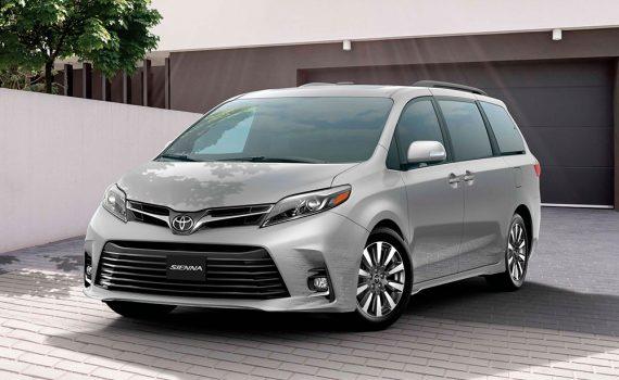 Toyota Sienna 2020 para México - exterior